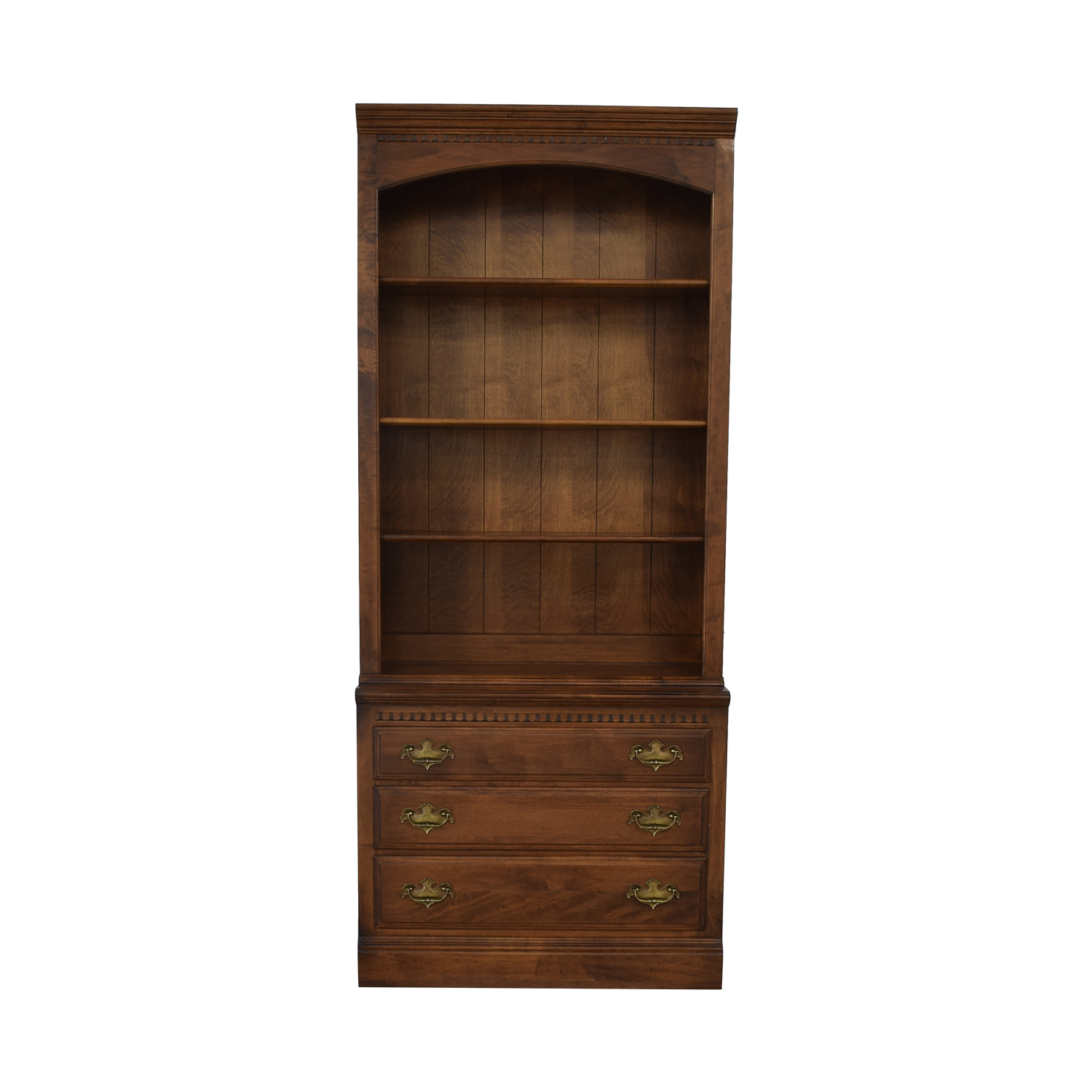 buy Ethan Allen Bookcase with Drawers Ethan Allen Bookcases & Shelving
