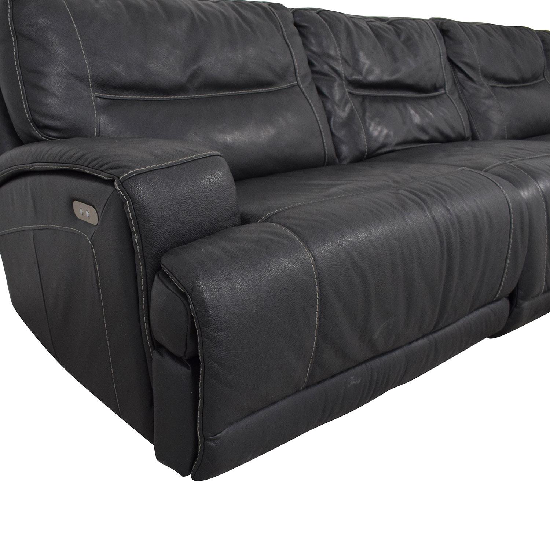 shop Natuzzi Four Seat Reclining Sofa Natuzzi Sectionals