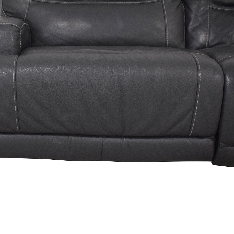 Natuzzi Natuzzi Four Seat Reclining Sofa nj