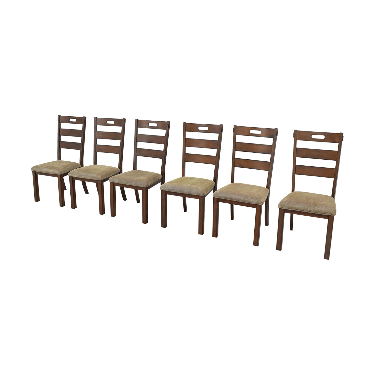 Wayfair Wayfair Ladder Back Upholstered Dining Chairs for sale