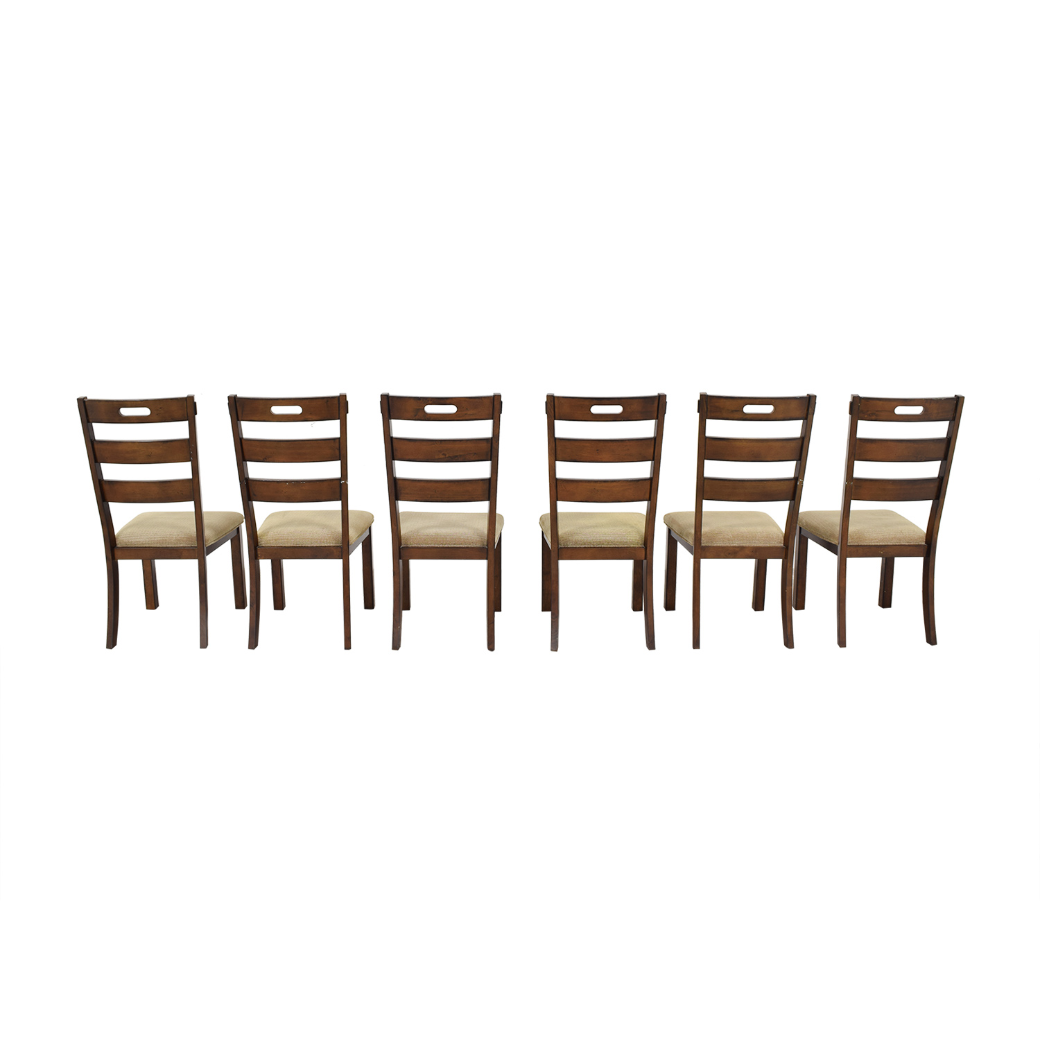 buy Wayfair Wayfair Ladder Back Upholstered Dining Chairs online