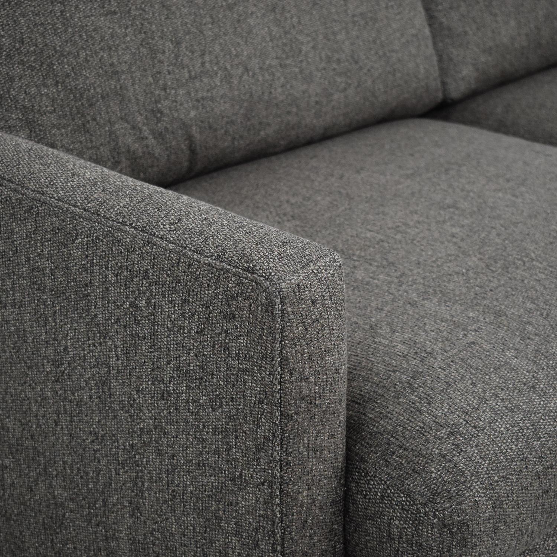 shop Crate & Barrel Lounge II Deep Sofa Crate & Barrel