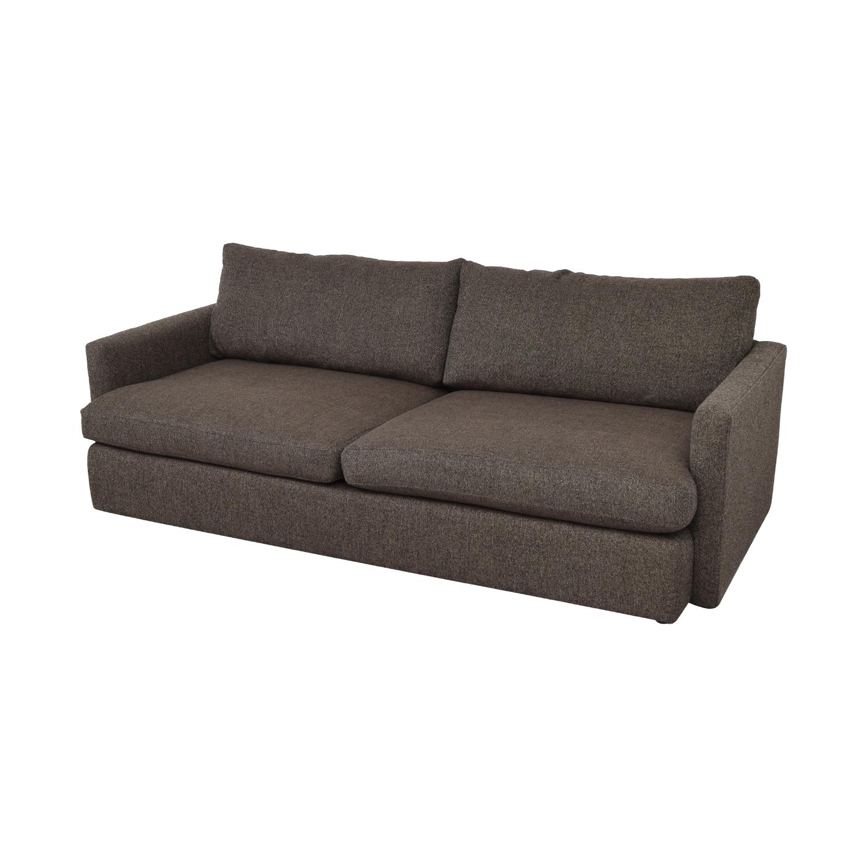 Crate & Barrel Crate & Barrel Lounge II Deep Sofa for sale