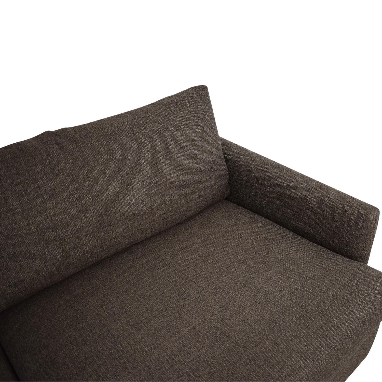 Crate & Barrel Crate & Barrel Lounge II Deep Sofa discount