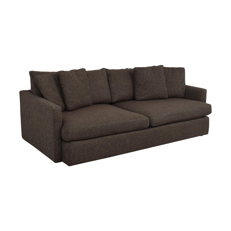 buy Crate & Barrel Lounge II Deep Sofa Crate & Barrel