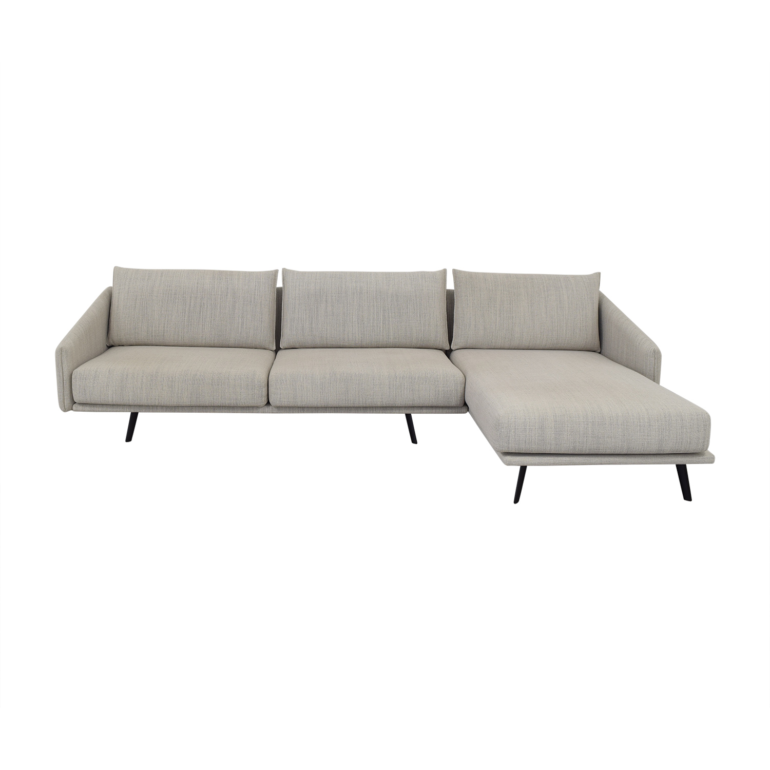 Design Within Reach Design Within Reach Costura Sectional with Chaise Sofas