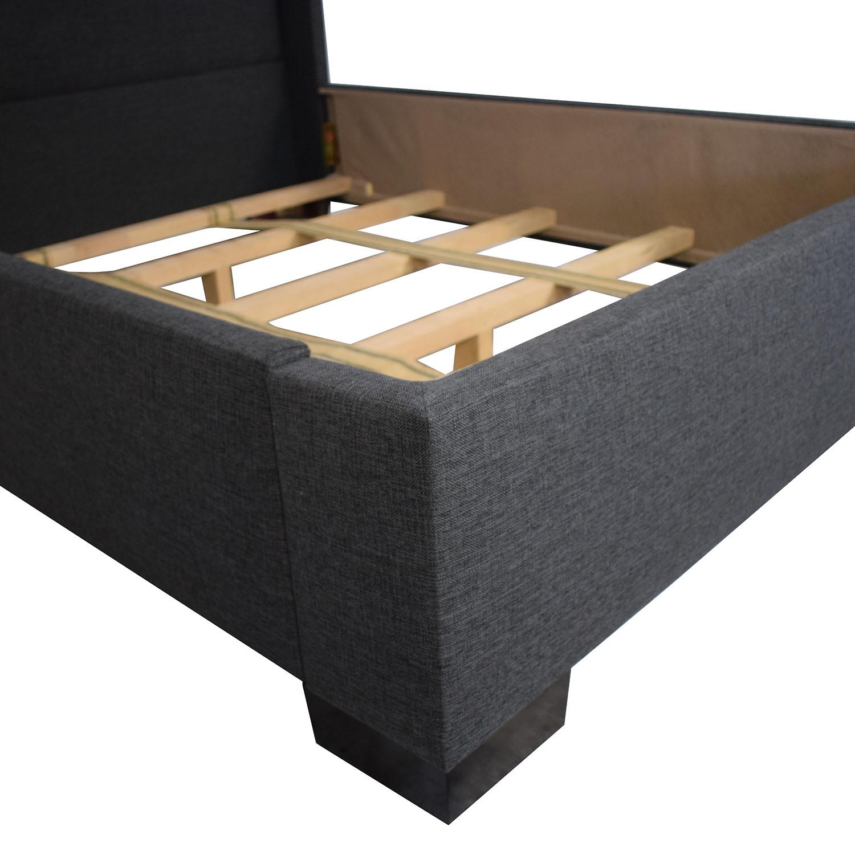 Apt2B Apt2B Everett Upholstered Bed dark gray