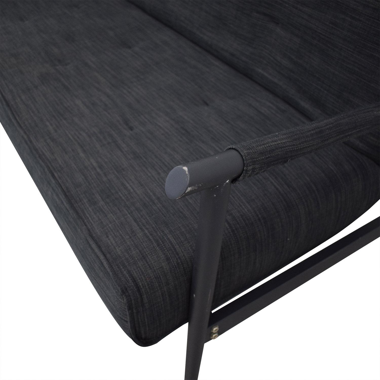buy BoConcept Kyoto Gray Tufted Sofa Bed BoConcept Sofa Beds