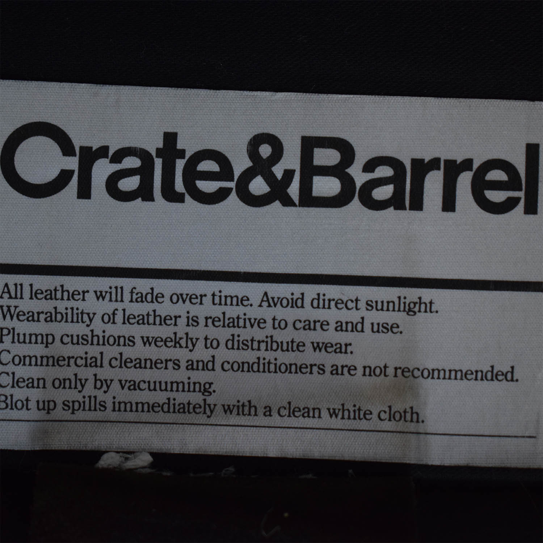 Crate & Barrel Axis II Three-Seat Sofa sale