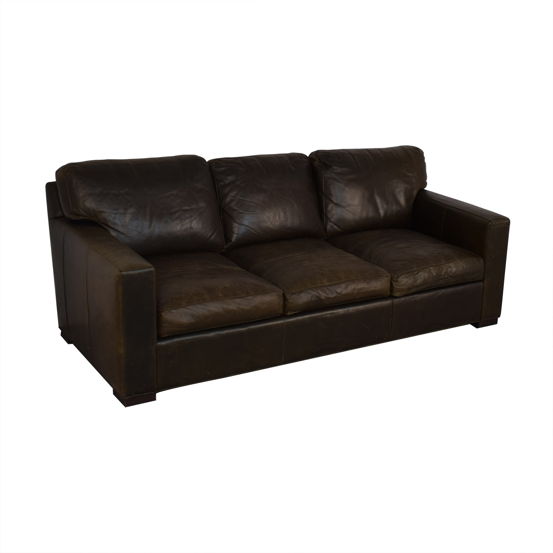 buy Crate & Barrel Axis II Three-Seat Sofa Crate & Barrel Classic Sofas