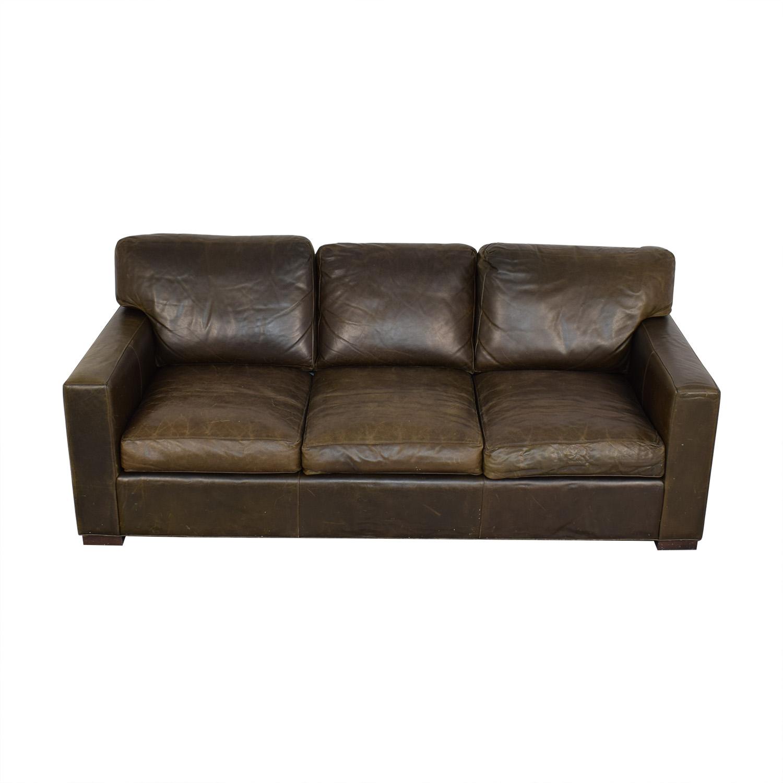 Crate & Barrel Crate & Barrel Axis II Three-Seat Sofa price