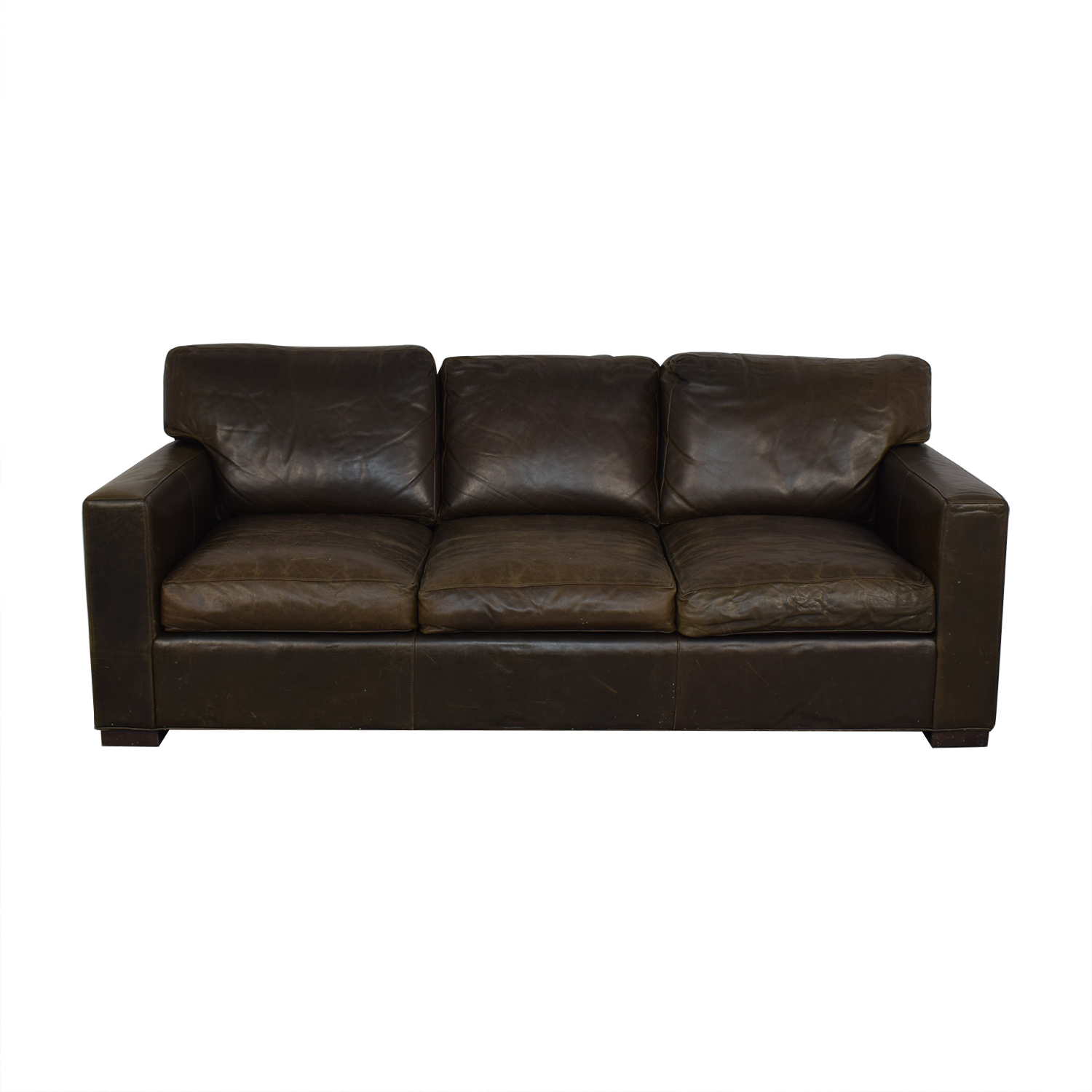 Crate & Barrel Crate & Barrel Axis II Three-Seat Sofa ma
