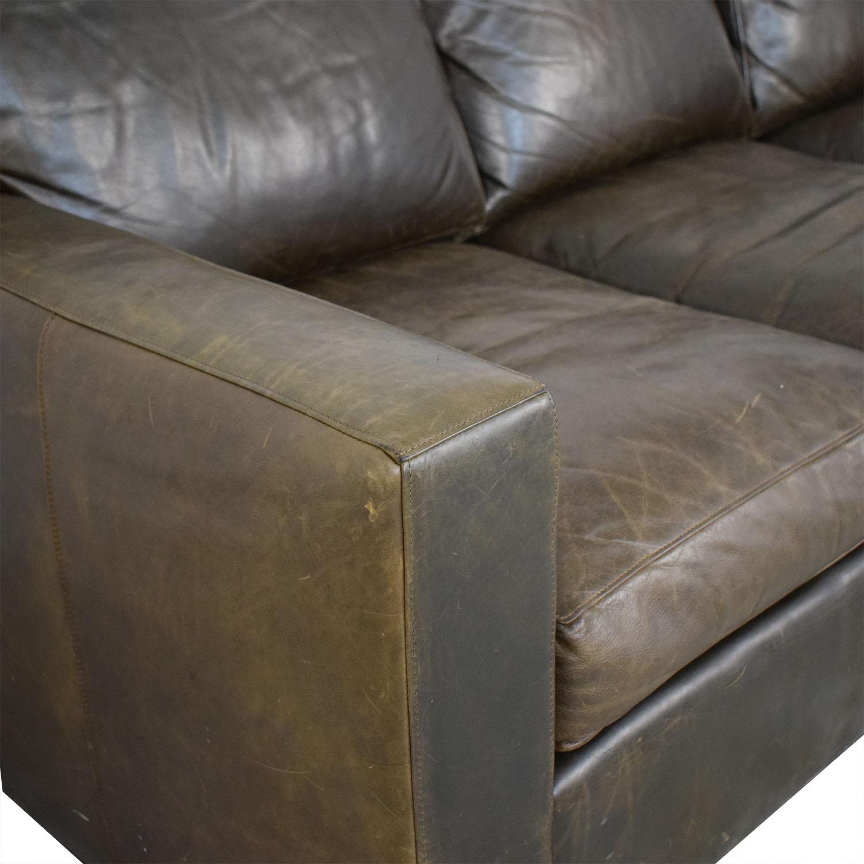 Crate & Barrel Crate & Barrel Axis II Three-Seat Sofa Classic Sofas