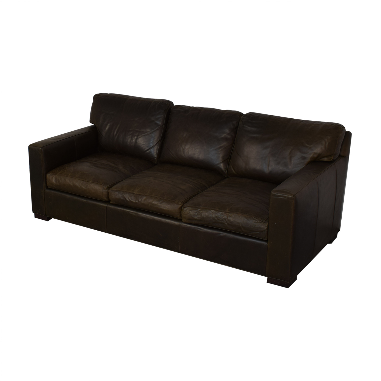 shop Crate & Barrel Axis II Three-Seat Sofa Crate & Barrel Sofas