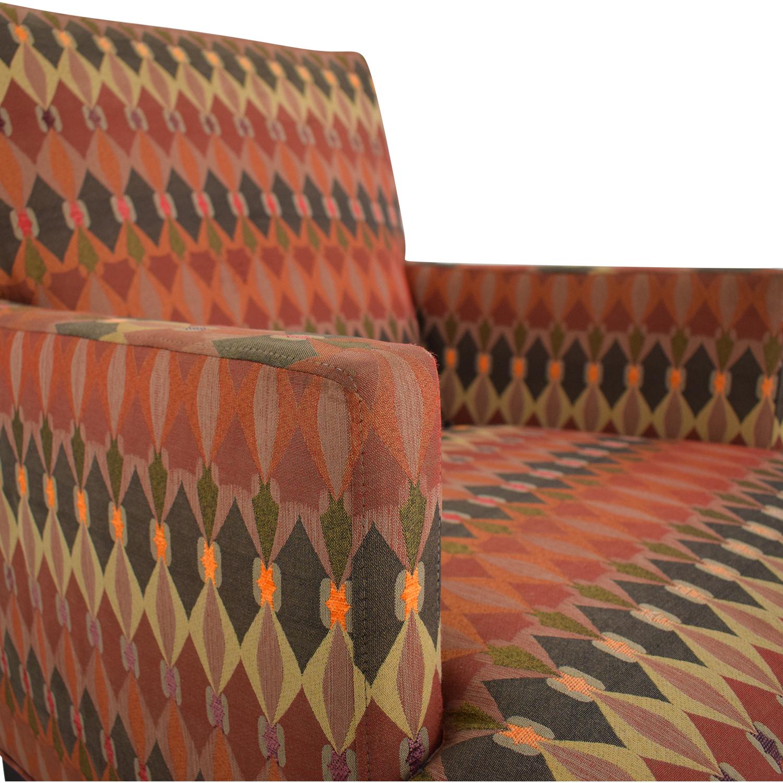 shop Crate & Barrel Tux Chair Crate & Barrel Chairs