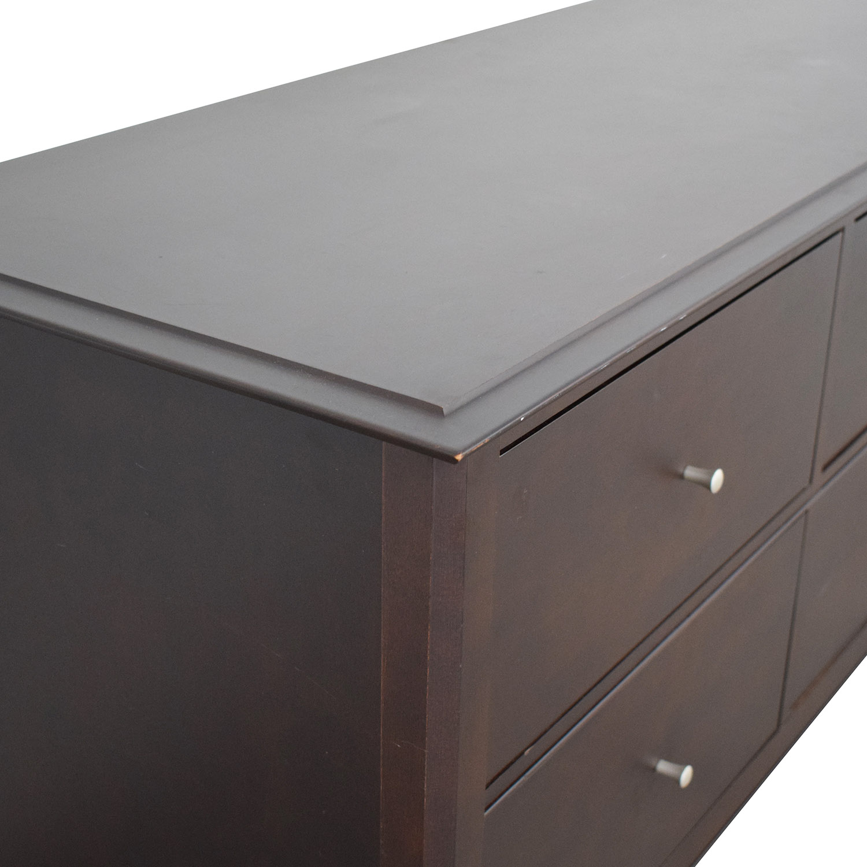 Baronet Canada Six Drawer Dresser Baronet