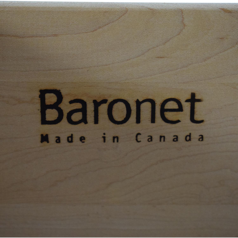 shop Baronet Six Drawer Highboy Dresser Baronet Dressers