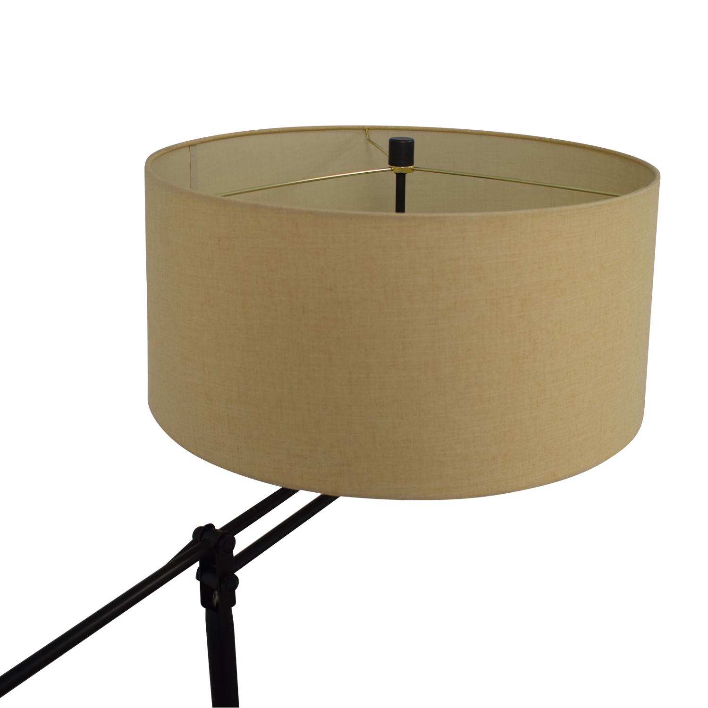 Crate & Barrel Autry Adjustable Floor Lamp sale
