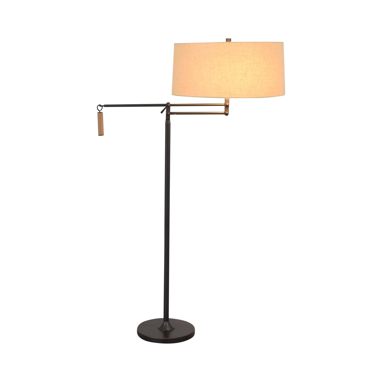 Crate & Barrel Crate & Barrel Autry Adjustable Floor Lamp