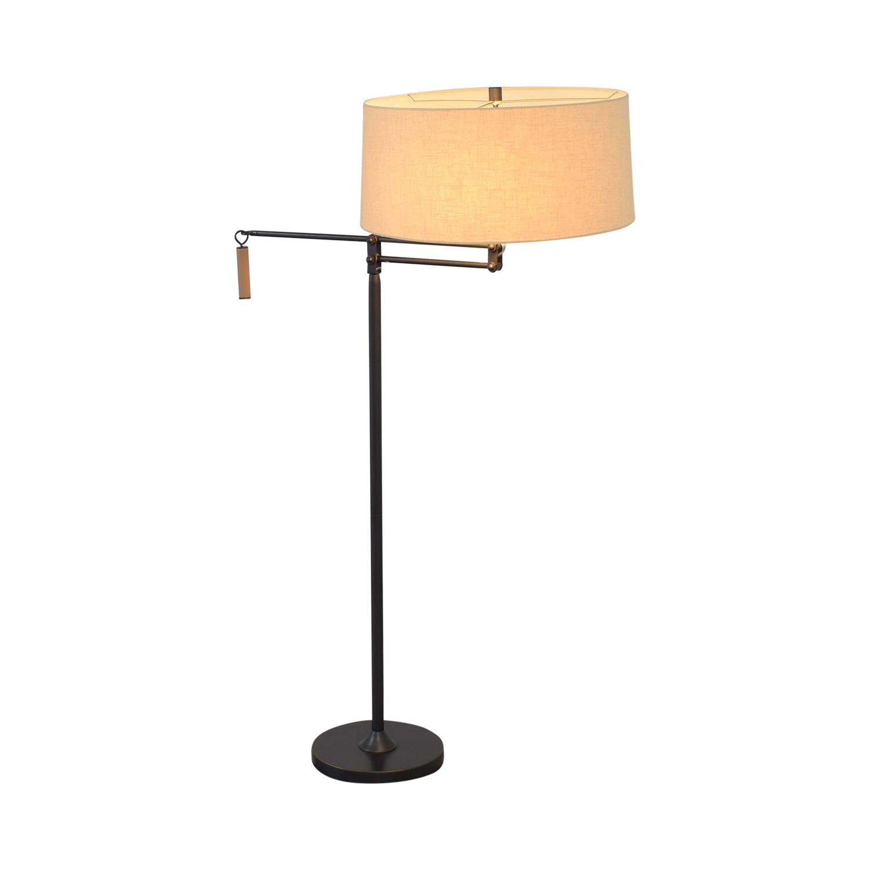 Crate & Barrel Crate & Barrel Autry Adjustable Floor Lamp Decor