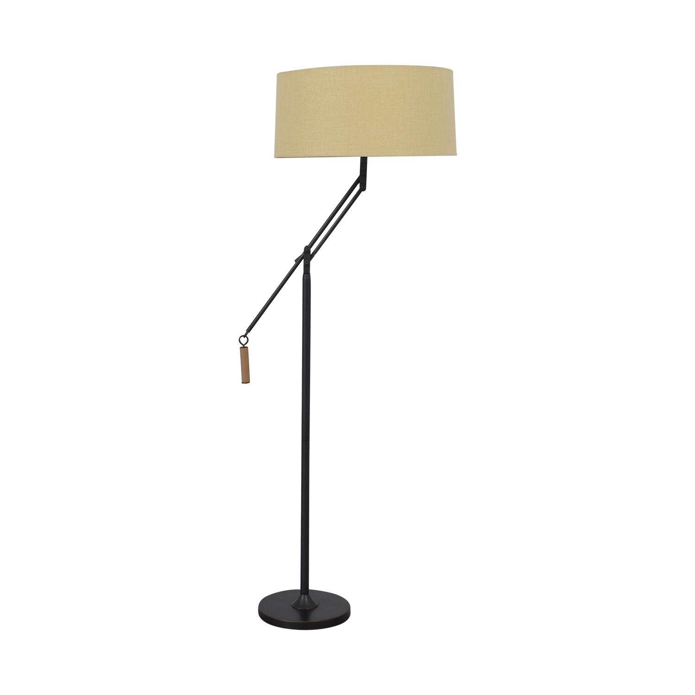 Crate & Barrel Autry Adjustable Floor Lamp / Lamps