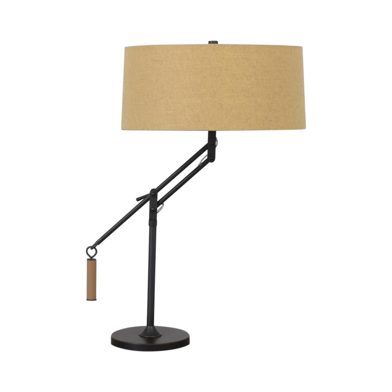 buy Crate & Barrel Crate & Barrel Autry Adjustable Table Lamp online