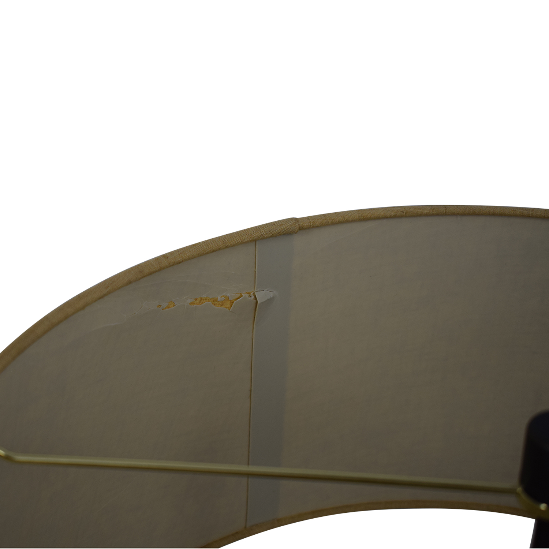 shop Crate & Barrel Autry Adjustable Table Lamp Crate & Barrel Decor