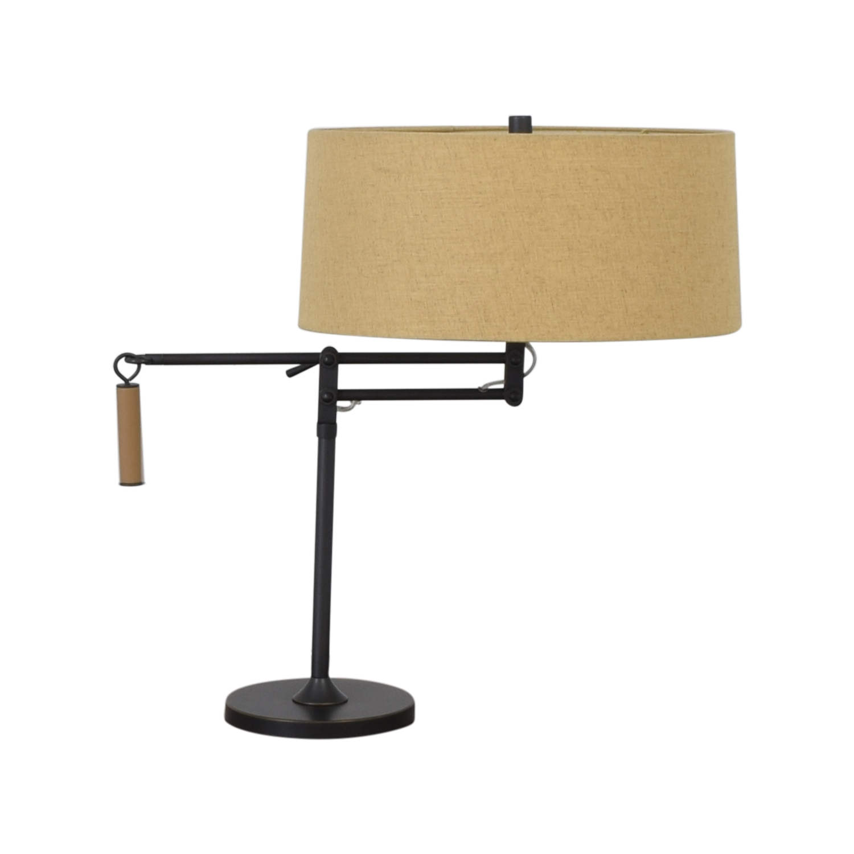 Crate & Barrel Crate & Barrel Autry Adjustable Table Lamp Lamps
