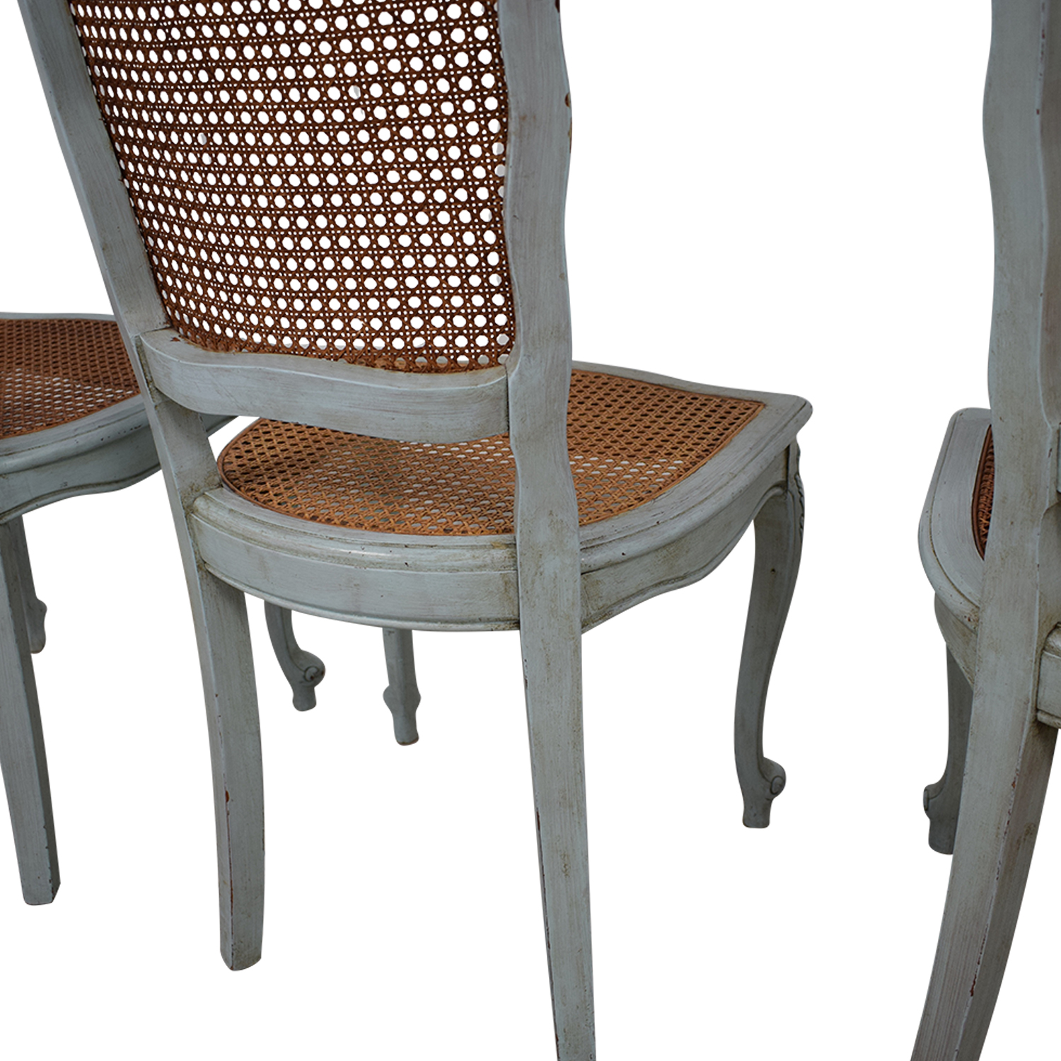ABC Carpet & Home ABC Carpet & Home French Wicker Chairs