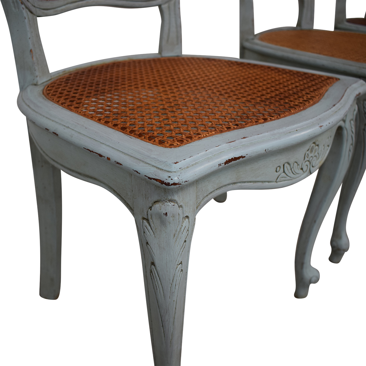 ABC Carpet & Home ABC Carpet & Home French Wicker Chairs on sale