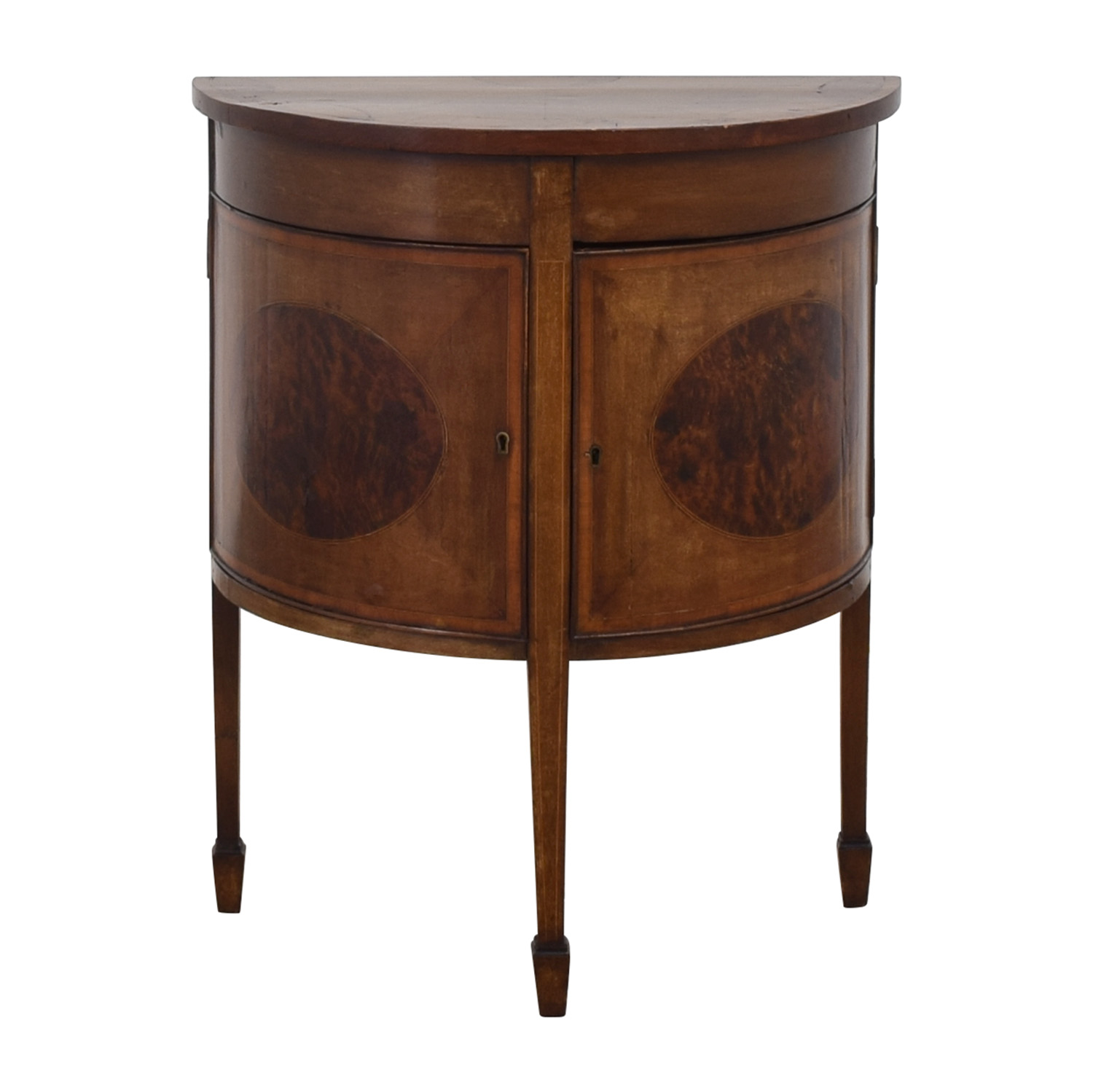 ABC Carpet & Home Demilune Console Cabinet / Cabinets & Sideboards