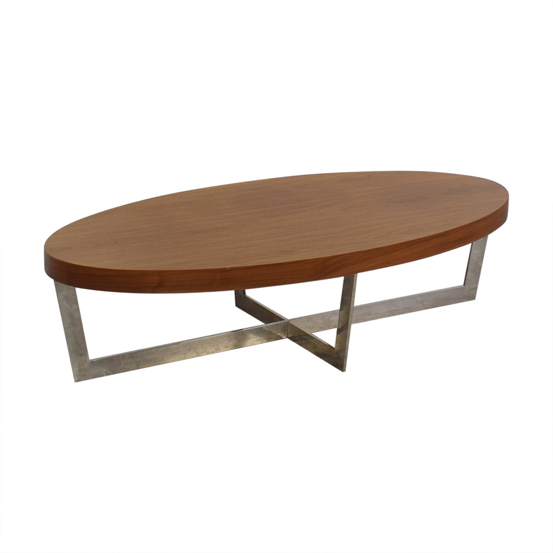 Brayden Studio Brayden Studio Oyster Coffee Table Tables