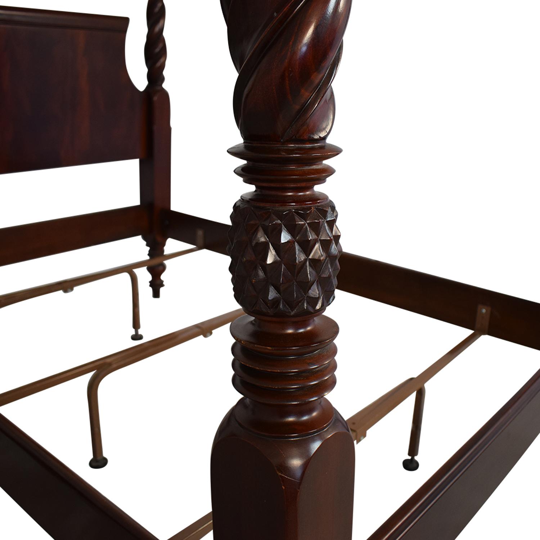shop Hickory Furniture Poster Bed Frame Hickory Chair Bed Frames