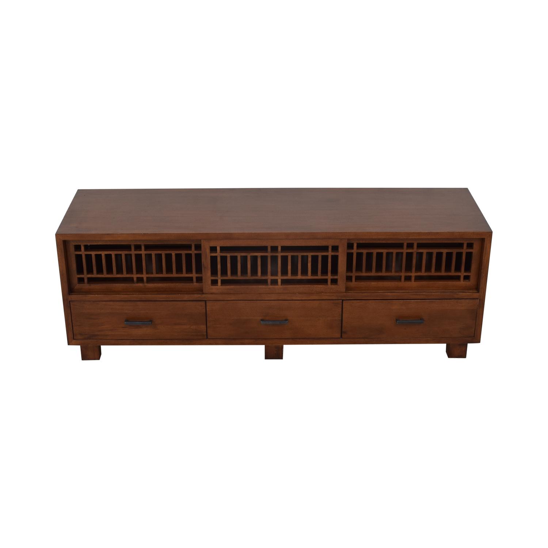 Crate & Barrel Lattice Media Console / Media Units
