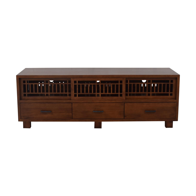 Crate & Barrel Crate & Barrel Lattice Media Console price