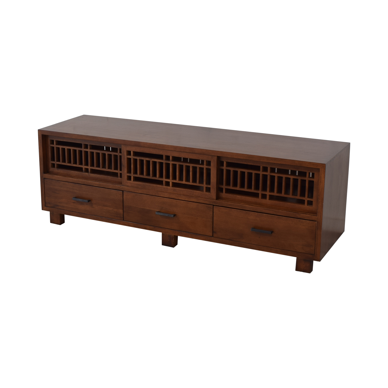 buy Crate & Barrel Crate & Barrel Lattice Media Console online