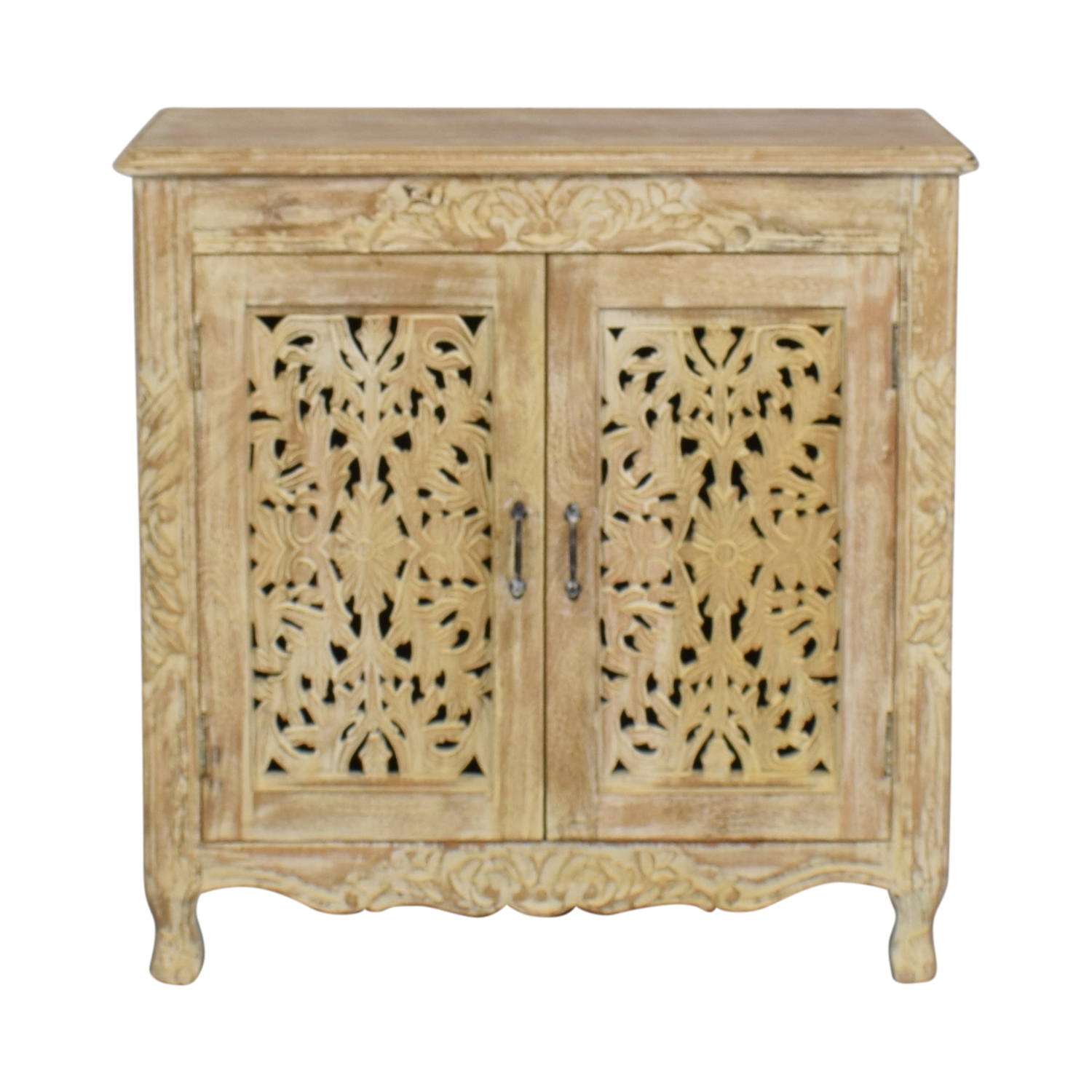 buy Nadeau Carved Wood Cabinet Nadeau Cabinets & Sideboards