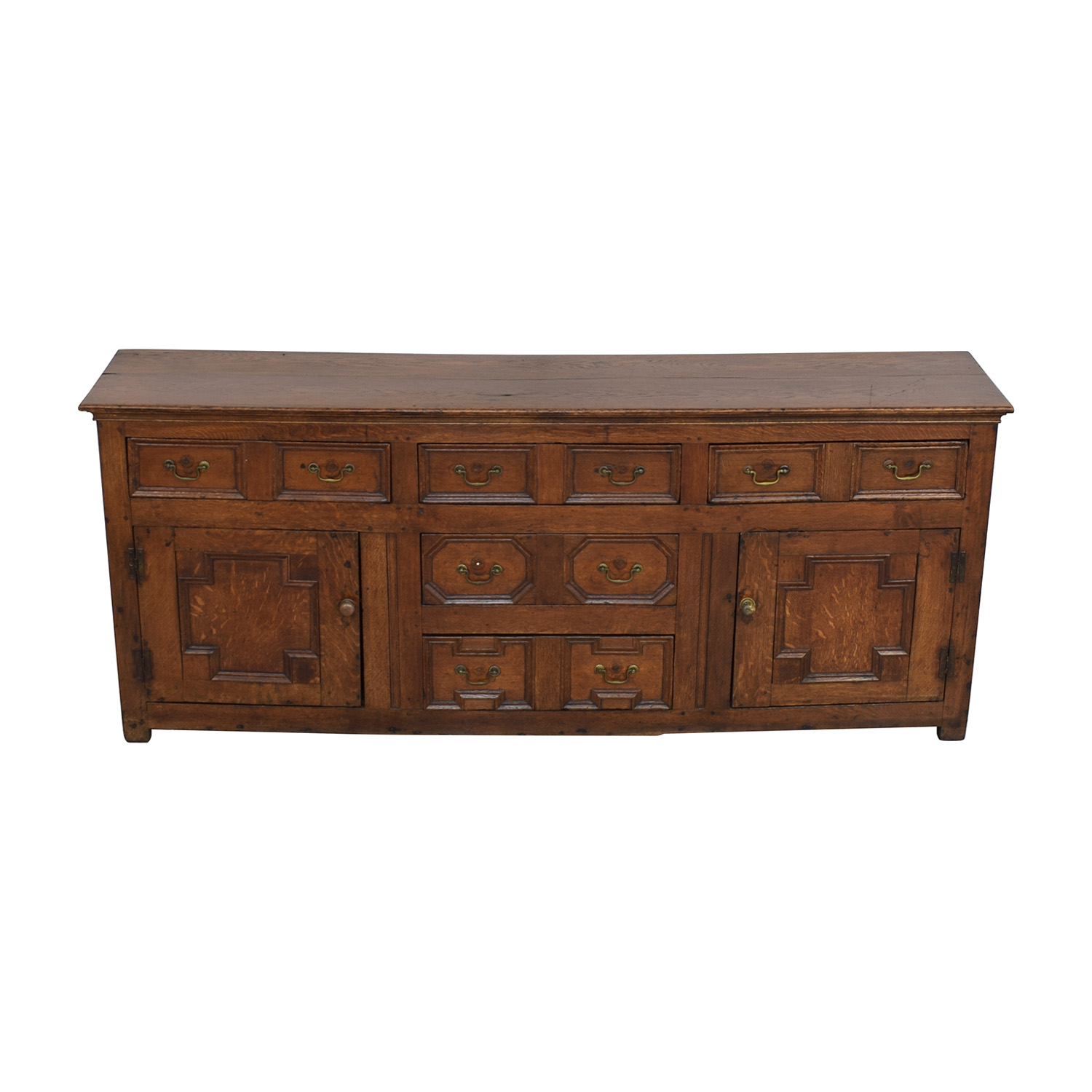 buy Antique Two-Cabinet Console Sideboard  Cabinets & Sideboards