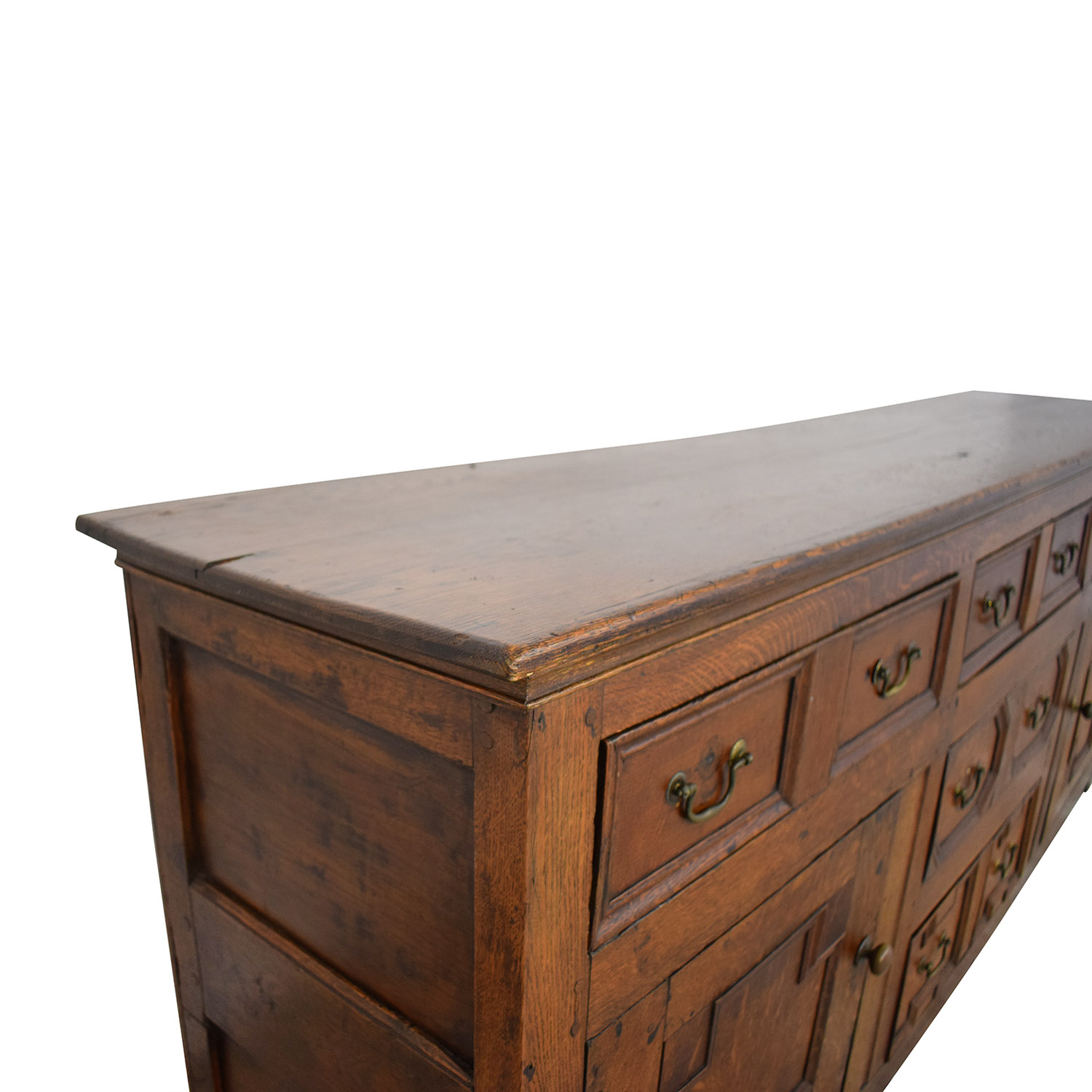 Antique Two-Cabinet Console Sideboard Cabinets & Sideboards