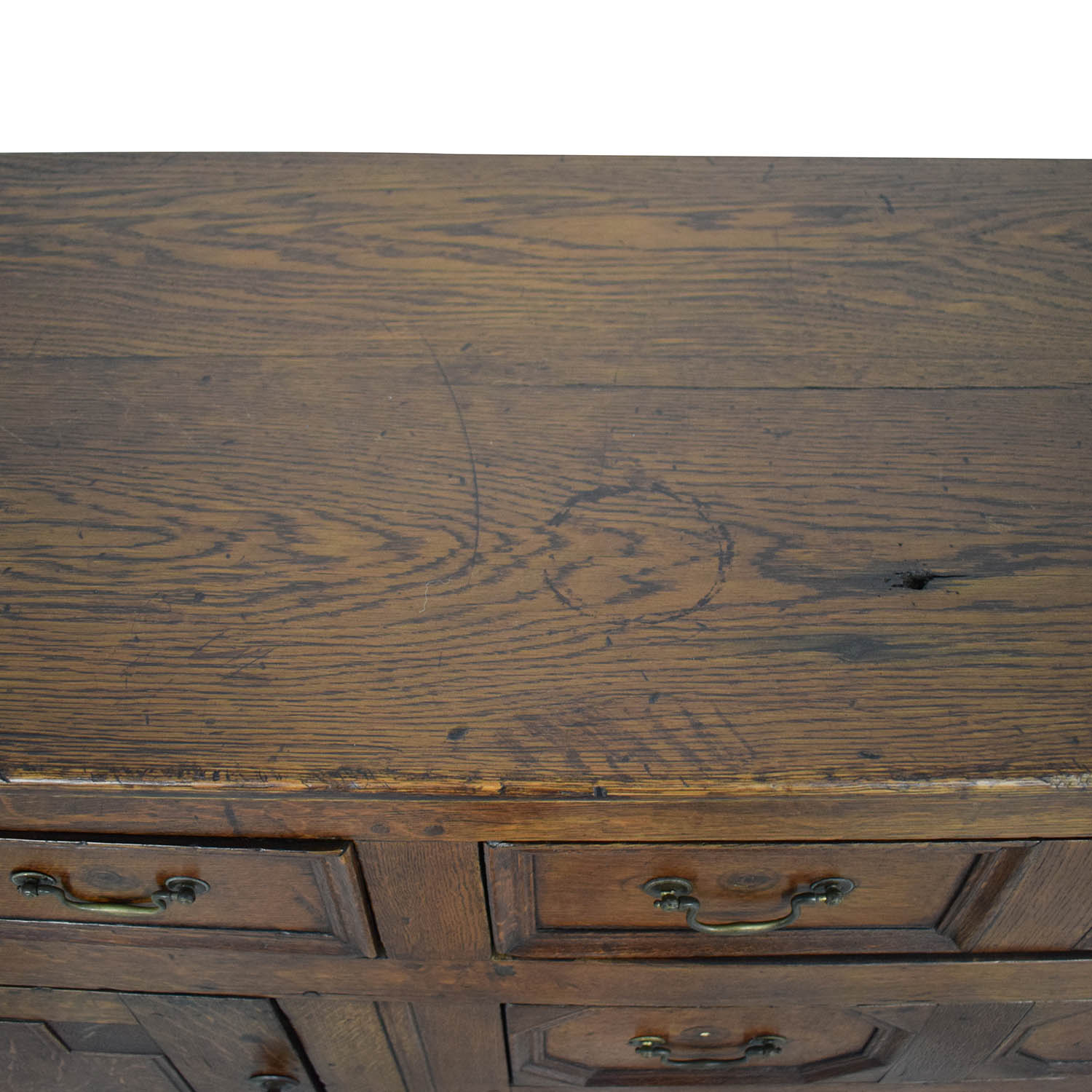 shop Antique Two-Cabinet Console Sideboard  Cabinets & Sideboards