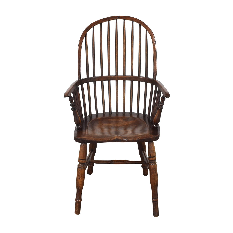 shop Antique Windsor Arm Chair
