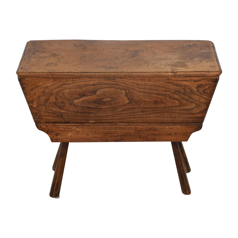 shop Antique English Dough Box  Tables