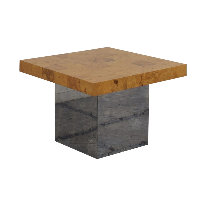 Thayer Coggin Thayer Coggin by Milo Baughman Side Table dimensions