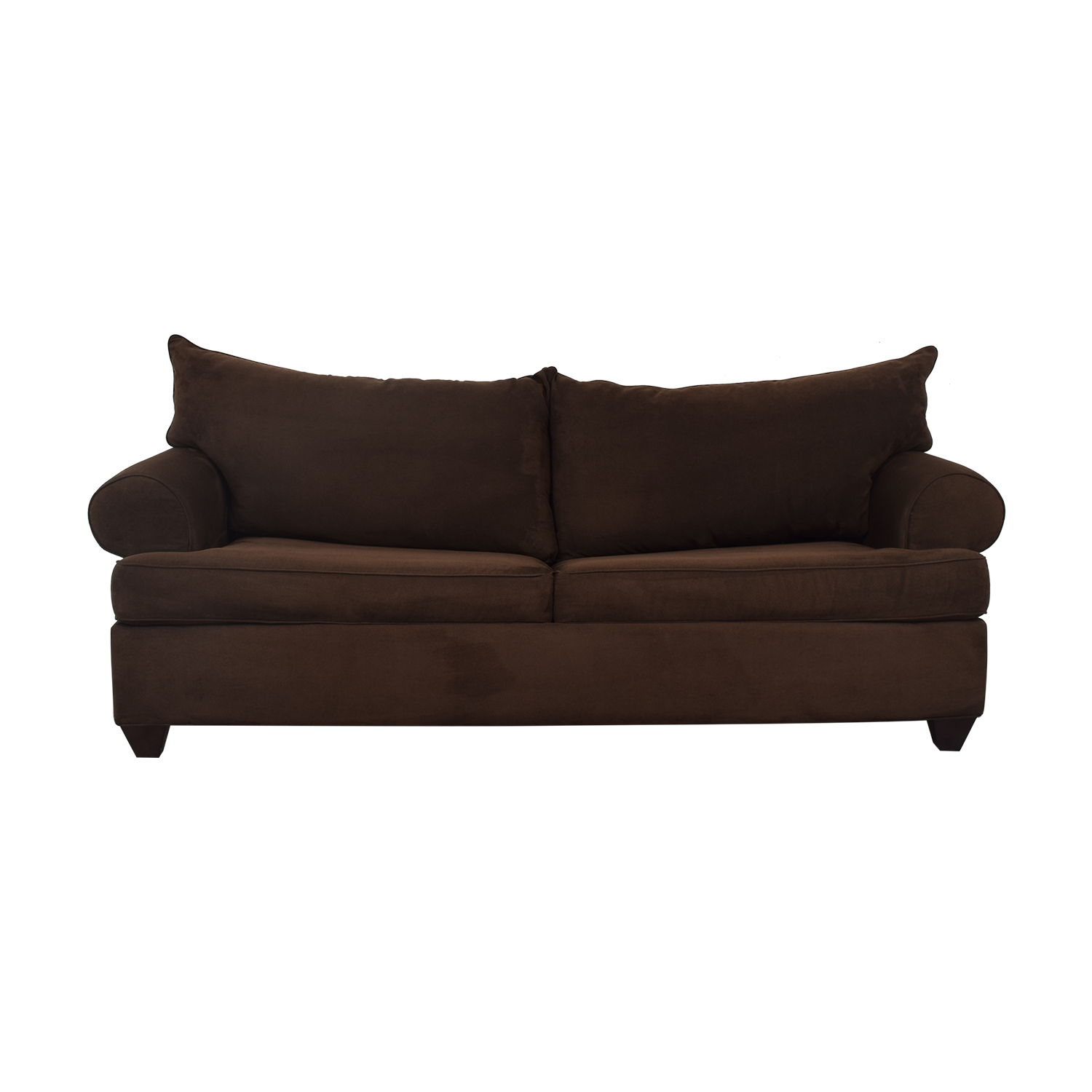 shop Raymour & Flanigan Two Cushion Sleeper Sofa Raymour & Flanigan