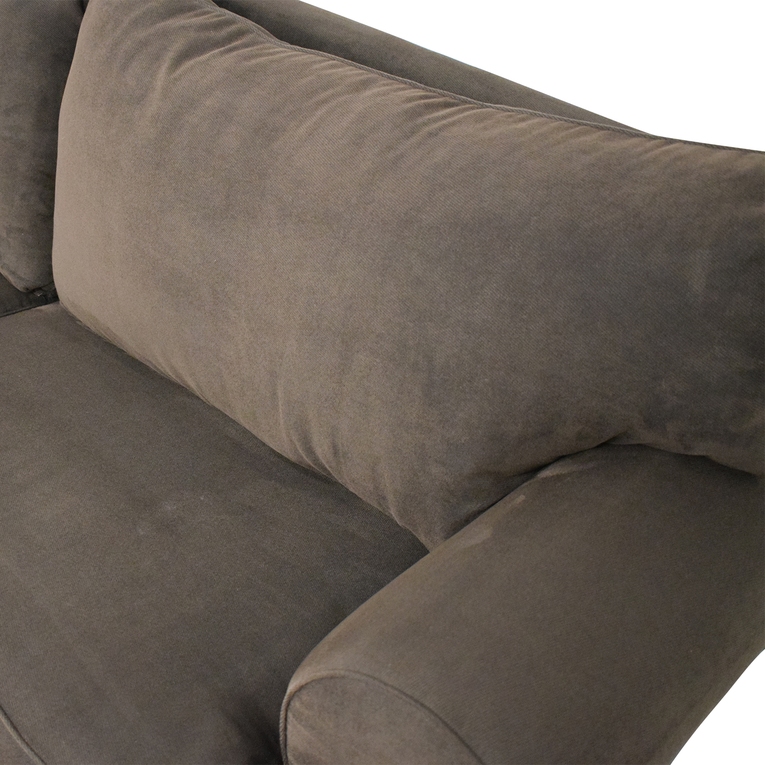 Raymour & Flanigan Two Cushion Sleeper Sofa Raymour & Flanigan