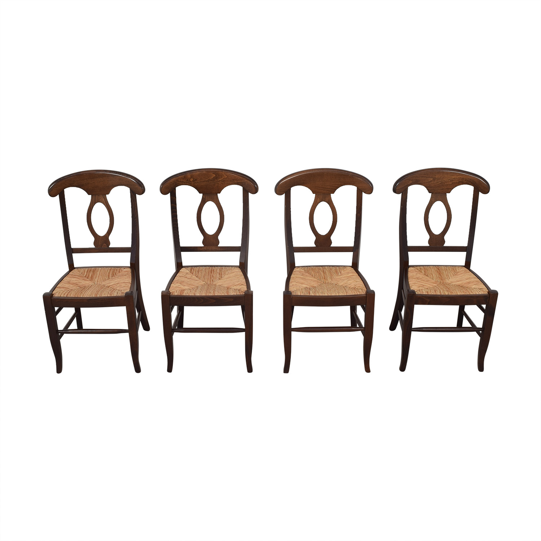 Pottery Barn Pottery Barn Napoleon Dining Chairs nj