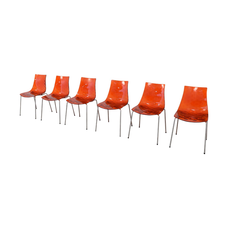 Calligaris Calligaris Ice Dining Chairs nj