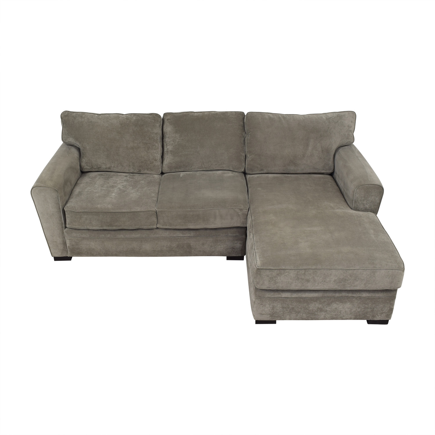 Raymour & Flanigan Raymour & Flanigan Artemis II Sectional Sofa with Chaise Sectionals