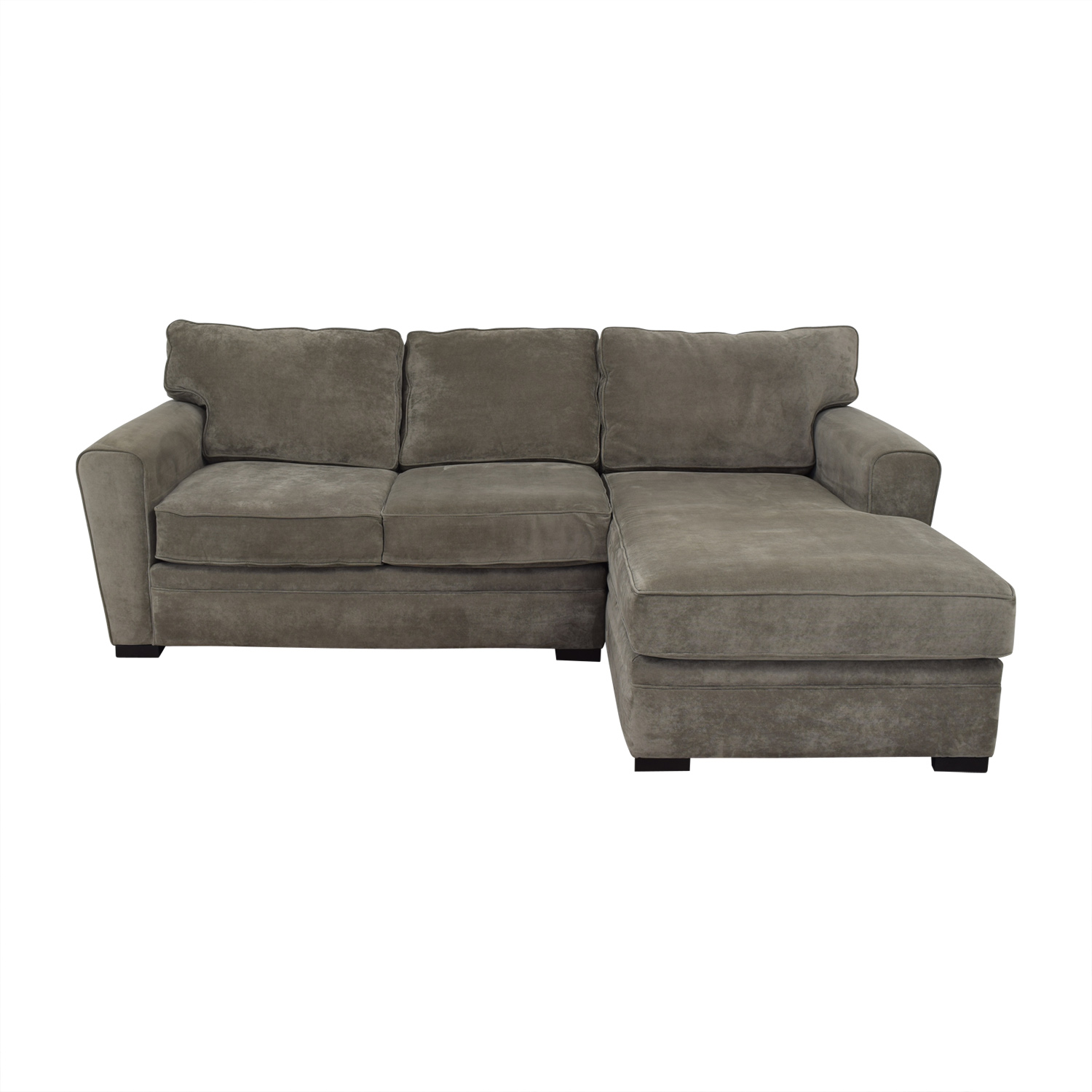 Raymour & Flanigan Raymour & Flanigan Artemis II Sectional Sofa with Chaise second hand