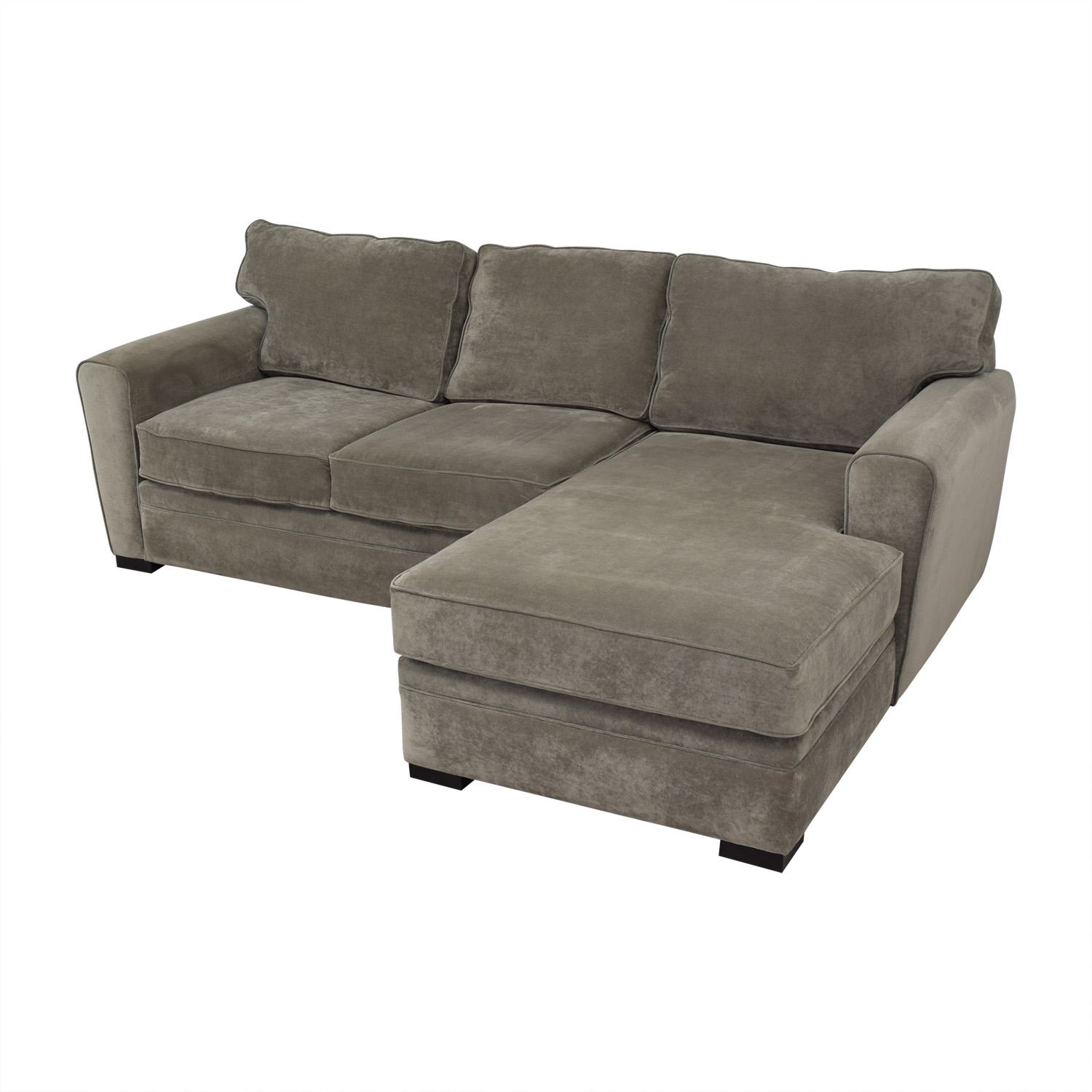 shop Raymour & Flanigan Artemis II Sectional Sofa with Chaise Raymour & Flanigan